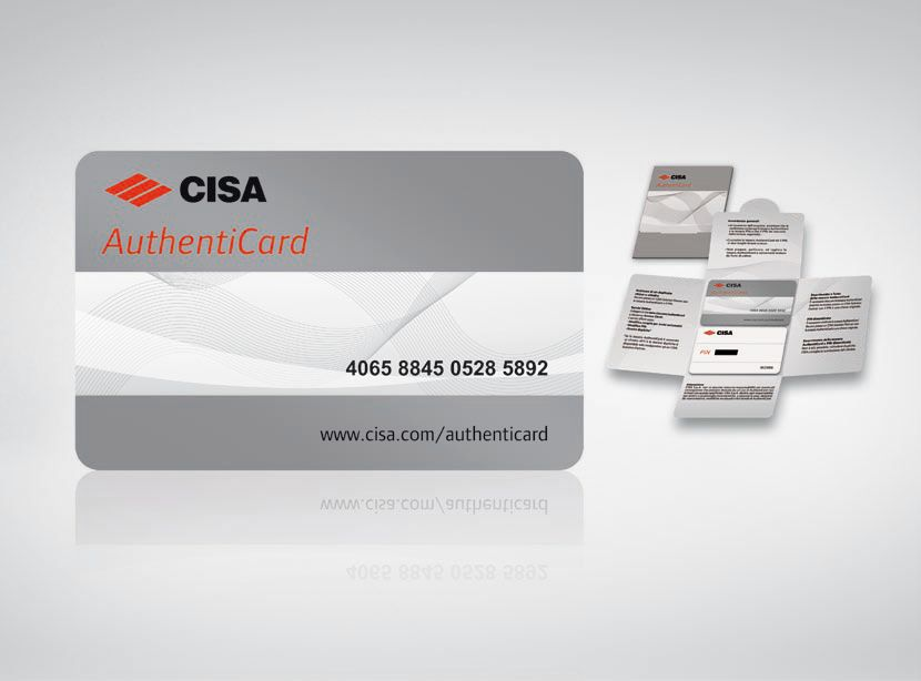 CISA AUTHENTICARD