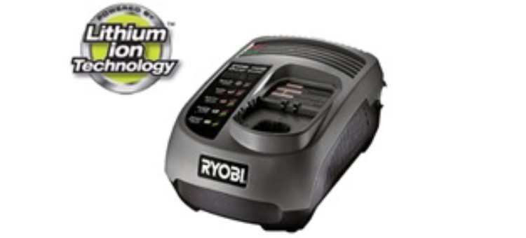 (RYOBI ONE+) Caricabatterie litio-ione e NI-CD